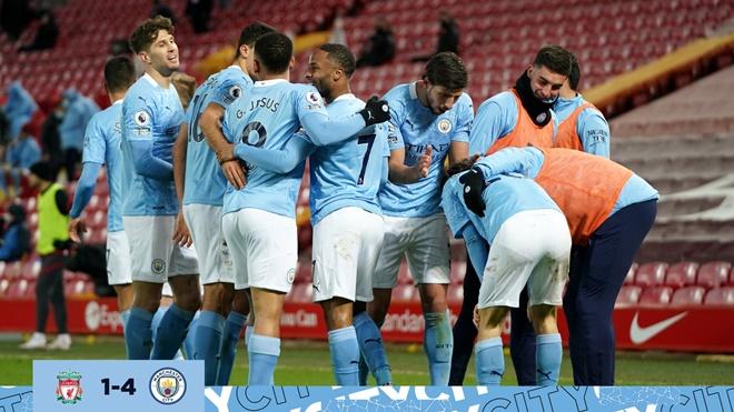 Liverpool 1-4 Man City: Alisson hóa tội đồ, Man City đánh sập Anfield