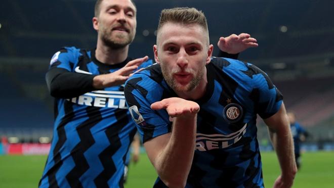 Inter Milan 1-0 Atalanta: Skriniar ghi bàn, Inter xây chắc ngôi đầu Serie A