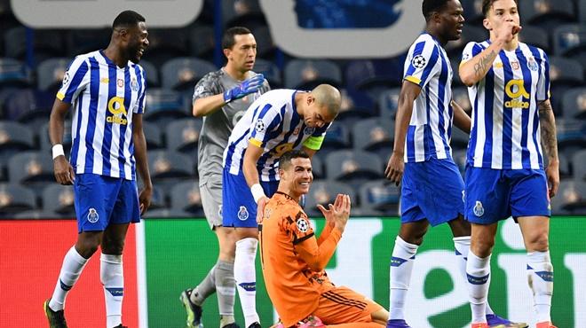 Ronaldo, Porto vs Juventus, Kết quả cúp C1, Chuyện gì đang xảy ra với  Ronaldo, kết quả Porto vs Juventus, Porto vs Juve, video Porto 2-1 Juventus, CR7, Cristiano Ronaldo