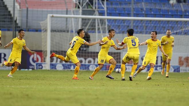 TRỰC TIẾP SLNA vs Hà Tĩnh (17h00). VTV6 trực tiếp bóng đá Việt Nam