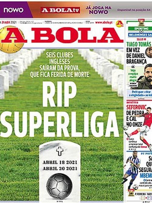 Báo chí châu Âu mỉa mai Perez và các 6 CLB lớn của Ngoại hạng Anh