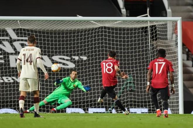 Kết quả bóng đá, MU vs Roma, Video MU 6-2 Roma, Kết quả cúp C2, Bruno, Cavani, kết quả MU vs Roma, kết quả MU, kết quả bán kết Cúp C2, kết quả Europa League, cúp C2, C2