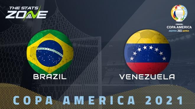 Xem trực tiếp bóng đá Brazil vs Venezuela Copa America 2021 ở đâu, kênh nào?