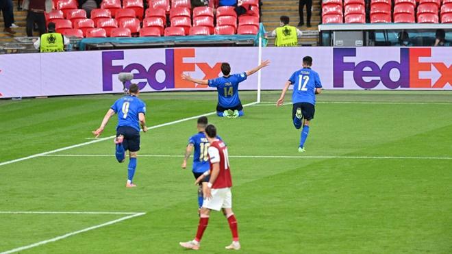 Ý 2-1 Áo, ket qua bong da, kết quả bóng đá EURO 2021, kết quả vòng 1/8 EURO, kết quả Ý đấu với Áo, Wales 0-4 Đan Mạch, ket qua bong da hom nay, tin EURO