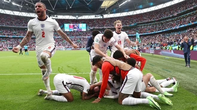 Anh vào tứ kết EURO 2021: 5 chìa khóa thành công