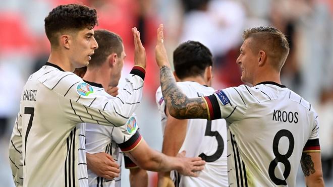 Anh vs Đức (23h00 ngày 29/6): Tuyển Đức mạnh yếu ra sao?