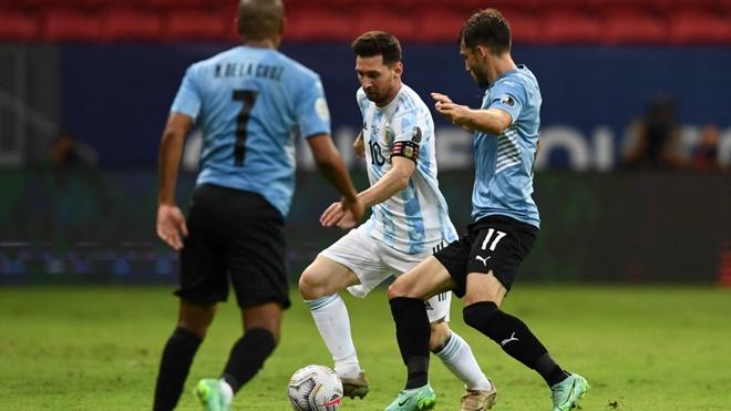 ĐIỂM NHẤN Argentina 1-0 Uruguay: Người hùng Messi. Argentina vẫn chưa nóng máy