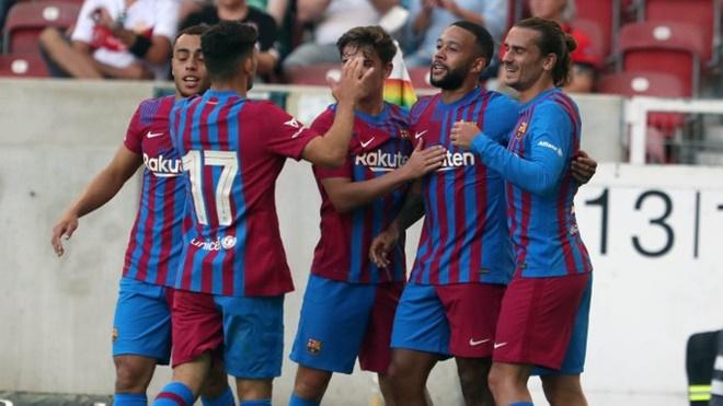 Giao hữu trước mùa giải: Barcelona, Man City thắng tưng bừng, Bayern Munich thảm bại