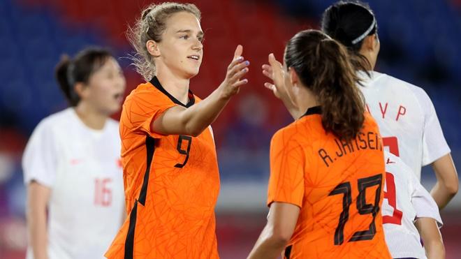 Nữ Trung Quốc bị loại sớm ở Olympic Tokyo sau trận thua Hà Lan 2-8