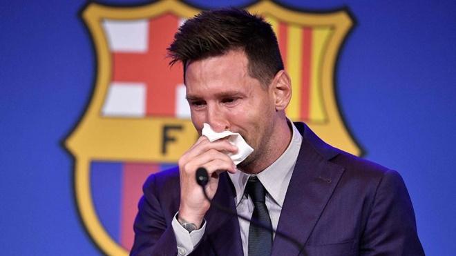 Messi họp báo chia tay Barca: Cộng đồng mạng ngậm ngùi, hụt hẫng