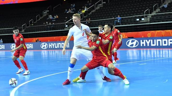 Futsal Việt Nam vào vòng 1/8 World Cup: Khi bản lĩnh lên tiếng
