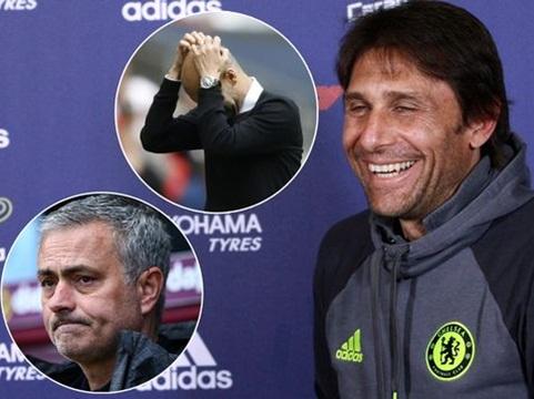 Conte đá xoáy Mourinho và Guardiola