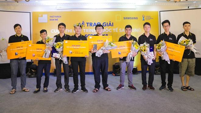 Cuộc thi lập trình quốc tế SVMC: 9 sinh viên Việt Nam đạt điểm tuyệt đối