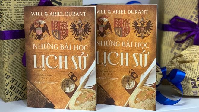Ra mắt 'Những bài học lịch sử' củaWill Durant