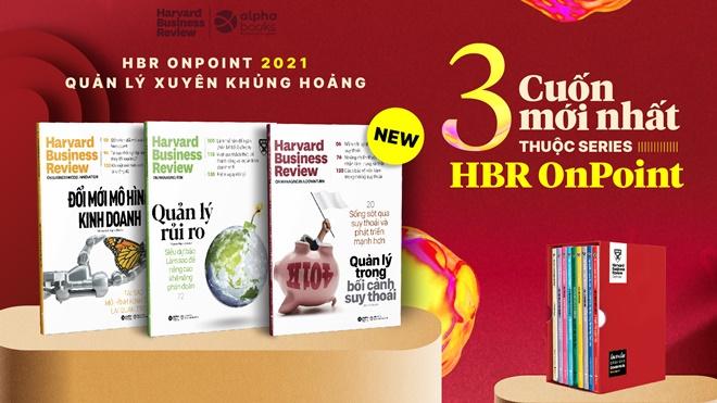Alpha Books tiếp tục phát hành loạt ấn phẩm 'HBR On Point'