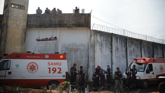 91 tù nhân vượt ngục bằng đường hầm ở Brazil