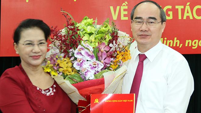Ông Nguyễn Thiện Nhân làm Bí thư Thành ủy TP. HCM