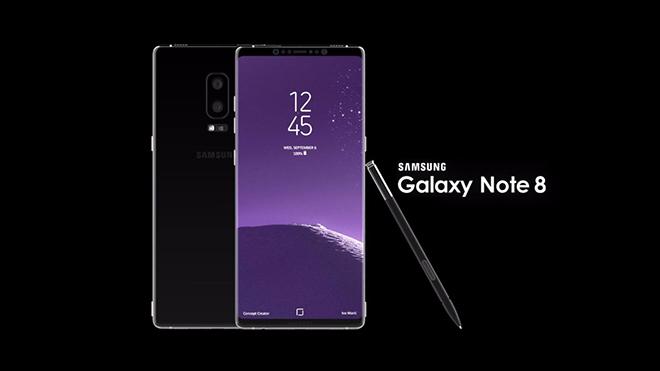 Samsung ra mắt Galaxy Note 8 ở New York, chưa công bố giá bán
