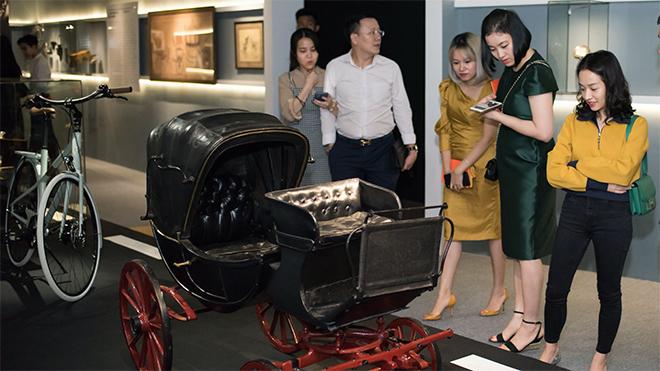 Trưng bày những di sản của Hermès ở Văn Miếu - Quốc Tử Giám