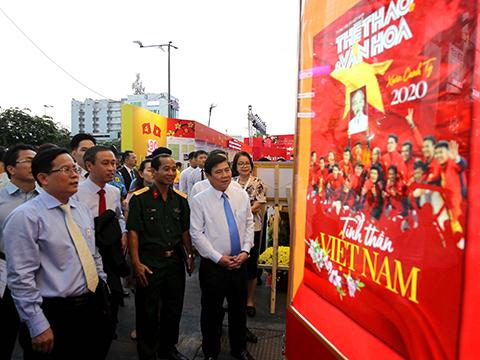 Khai mạc Lễ hội Đường sách Thành phố Hồ Chí Minh Tết Canh Tý 2020