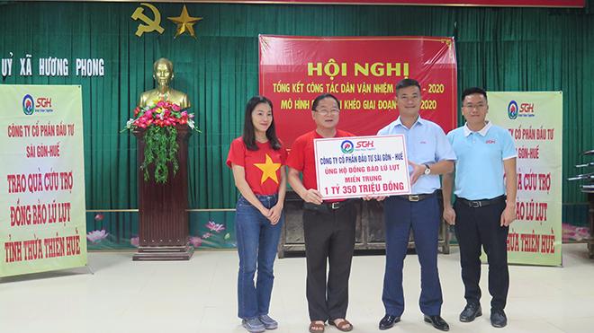 Nhìn lại hành trình thiện nguyện miền Trung của Hoa hậu Việt Nam 2020