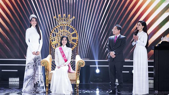 Ý đồ ẩn sau màn đăng quang của Hoa hậu Việt Nam 2020 trong trang phục Áo dài