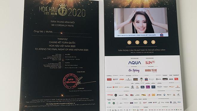 Hoa hậu Việt Nam 2020: Vé xem Đêm chung kết 'sốt sình sịch'