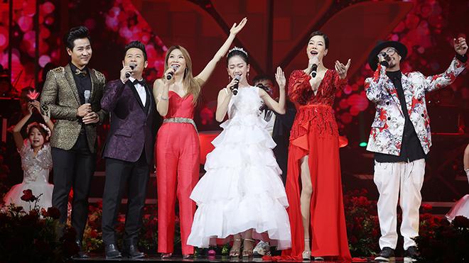 Mỹ Tâm hát 'We are the family' gửi đi thông điệp 'Việt Nam thịnh vượng'
