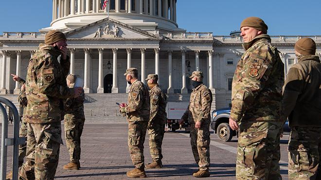 25.000 vệ binh quốc gia bảo vệ lễ nhậm chức Tổng thống Mỹ