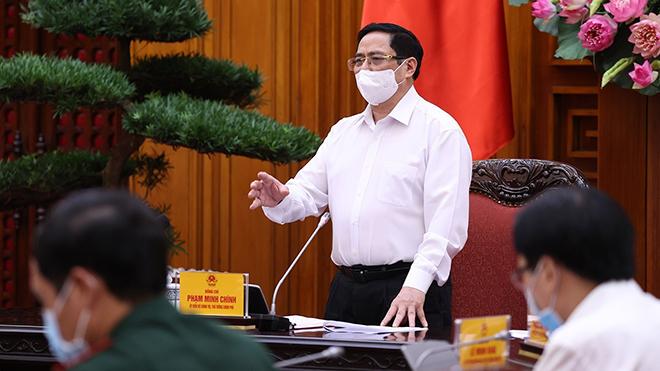 Thủ tướng Phạm Minh Chính: Nghiên cứu xây dựng Quỹ vaccine ngừa Covid-19