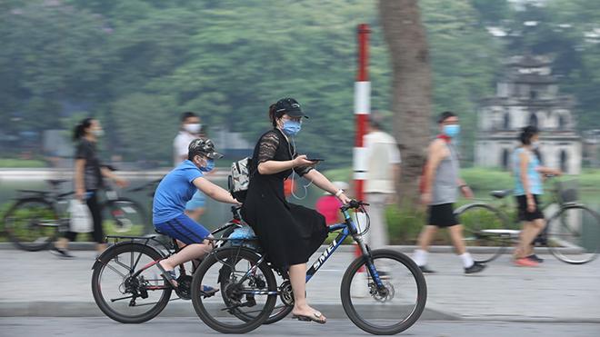 Hà Nội tạm dừng các hoạt động thể dục, thể thao ngoài trời từ 18h ngày 8/7