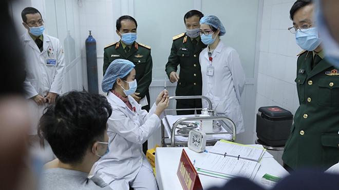 Xem xét cấp giấy đăng ký lưu hành có điều kiện vaccine Nanocovax