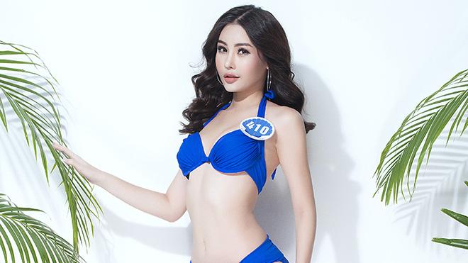 Đường cong nóng bỏng của những cô gái đẹp ở Hoa hậu Đại dương 2017