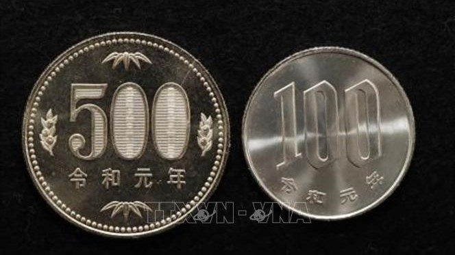Nhật Bản bắt đầu sản xuất tiền xu với niên hiệu mới