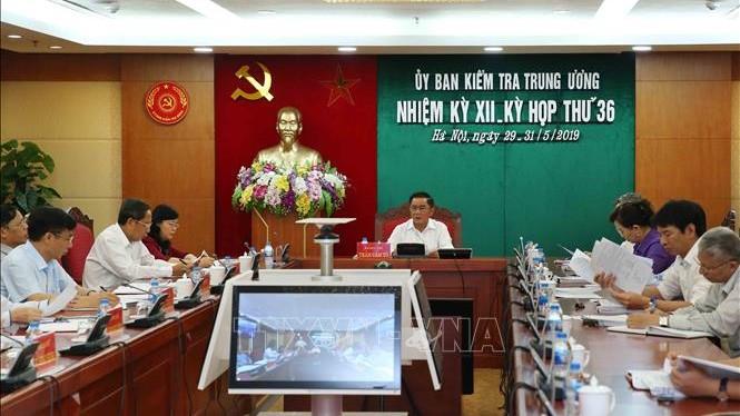Kỳ họp 36 của Ủy ban Kiểm tra Trung ương: Kỷ luật cảnh cáo Thứ trưởng Bộ Tài chính Huỳnh Quang Hải