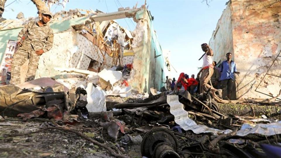 Đánh bom liều chết tại Somalia, 17 người thiệt mạng