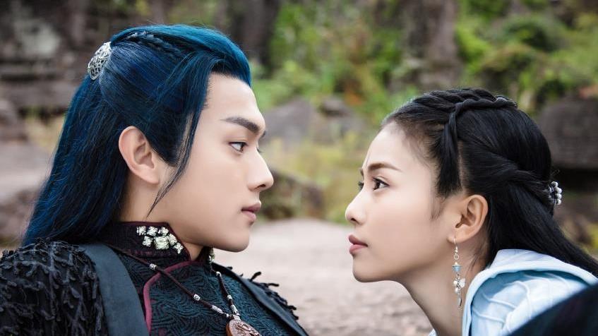 'Chiêu Diêu' tập 41, 42: 'Lệ Trần Lan' Hứa Khải cầu hôn nữ ma đầu 'Lộ Chiêu Diêu' Bạch Lộc