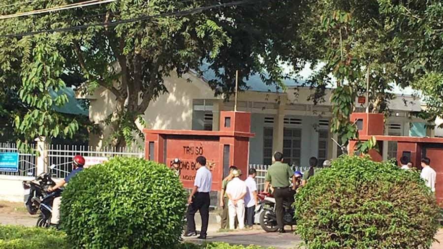 Vụ nổ súng tại trụ sở phường Đoàn Kết-Gia Lai: UBND thị xã Ayun Pa đã có báo cáo nhanh gửi Chủ tịch UBND tỉnh