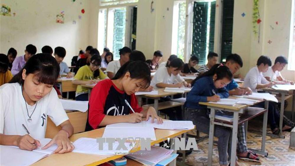 Thông tin mới về xử lý thí sinh Hòa Bình, Sơn La vi phạm trong Kỳ thi Trung học Phổ thông quốc gia năm 2018