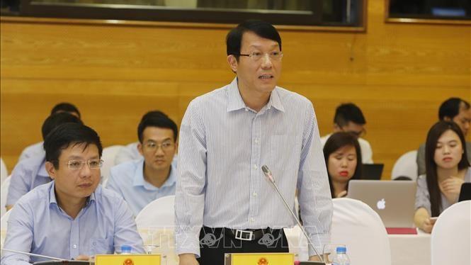 Họp báo Chính phủ thường kỳ tháng 5: Bộ Công an lý giải về việc truy nã Tổng Giám đốc Công ty Nhật Cường và vụ gian lận điểm thi