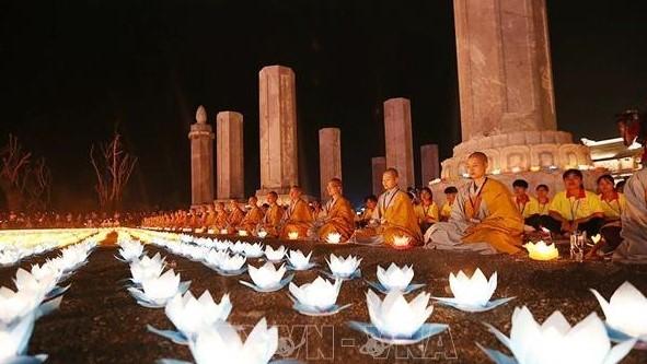 Đại lễ Phật đản Liên hợp quốc Vesak 2019: Đại lễ Hoa đăng cầu nguyện hòa bình thế giới