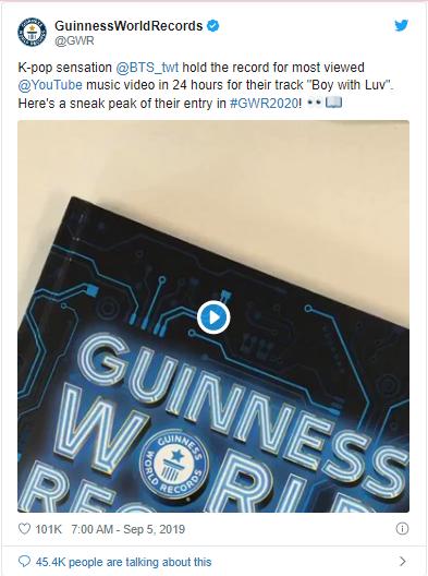 BTS, BTS lập kỷ lục thế giới Guinness cho tài khoản TikTok, BTS TikTok, Bts, bts, kỷ lục bts, bts kỷ lục, tiktok bts