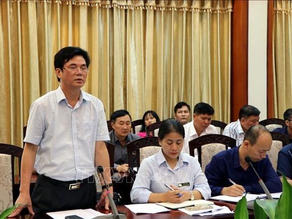 Họp báo thông tin về sự cố sập giàn giáo khi thi công công trình Trung tâm Văn hóa Xứ Đông