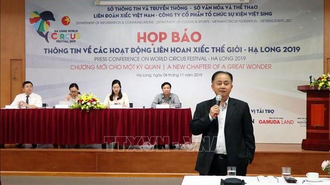 Liên hoan Xiếc thế giới – Hạ Long 2019 diễn ra từ ngày 11 – 17/11