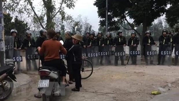 Vụ gây rối tại xã Đồng Tâm, Hà Nội: Khởi tố vụ án về 3 tội danh