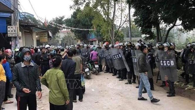 Vụ gây rối trật tự tại xã Đồng Tâm, Hà Nội: Khởi tố 22 bị can