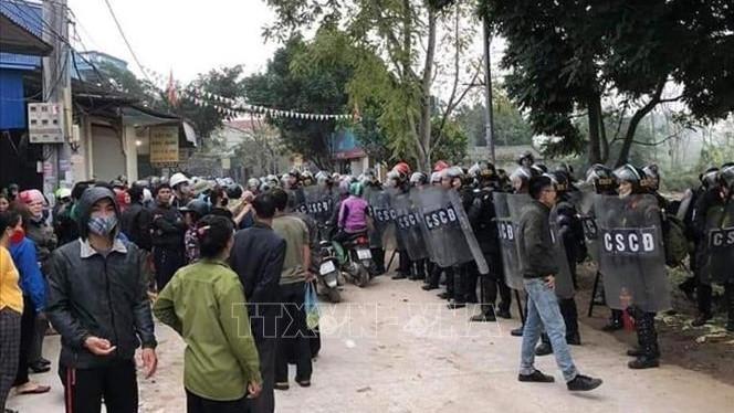 Toàn cảnh vụ gây rối trật tự công cộng và chống người thi hành công vụ tại Đồng Tâm