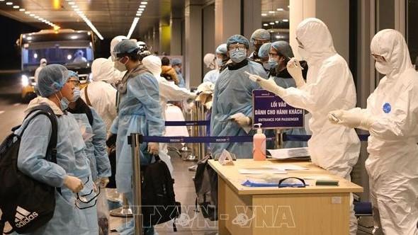 Chùm ảnh: Đoàn 30 công dân Việt Nam từ Vũ Hán đã được đưa về nước an toàn