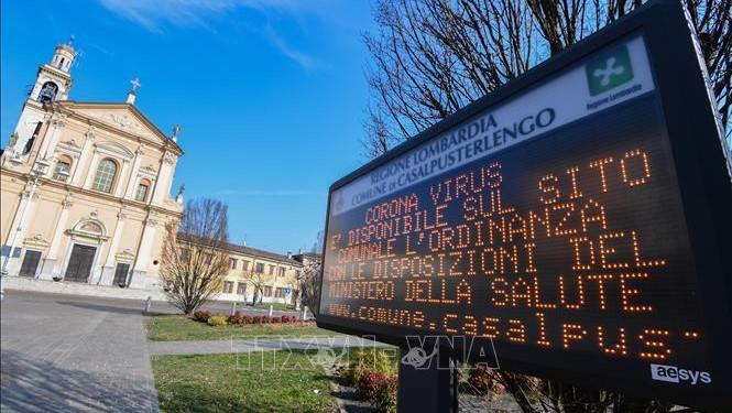 Dịch viêm đường hô hấp cấp COVID-19: Số ca nhiễm bệnh tại Italy tăng nhanh