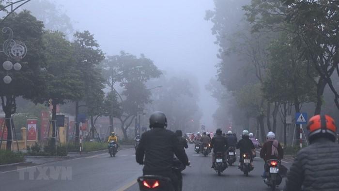 Từ 14 - 23/2, nhiều khu vực có mưa, Bắc Bộ và Bắc Trung Bộ có sương mù, trời rét